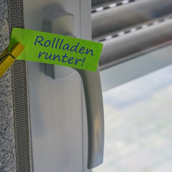 Rollladen-Aktion – mehr Komfort durch E-Motor