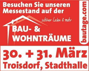 Bau- und Wohnträume 30.+31.03.2019 in Troisdorf